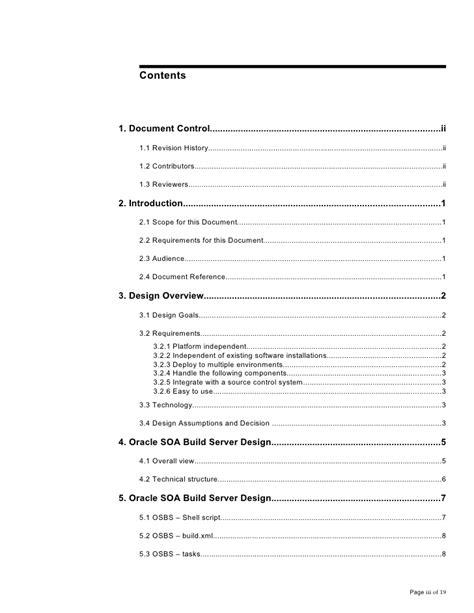 technical design document layout osbs technical design document