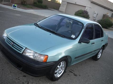 1991 Toyota Tercel 1991 Toyota Tercel Photos Informations Articles