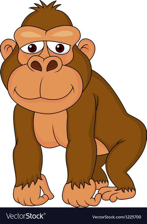 gorilla clipart gorilla royalty free vector image