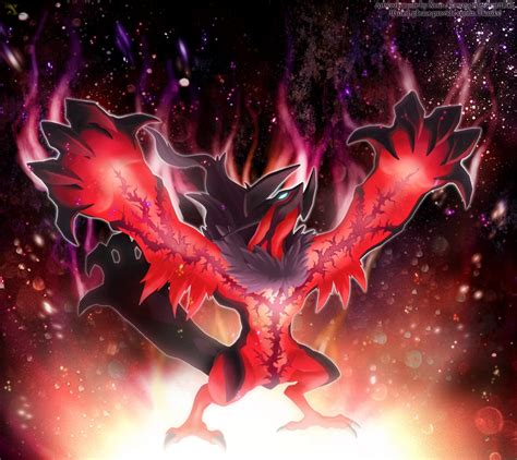 cool yveltal wallpaper legendary yveltal by xous54 on deviantart