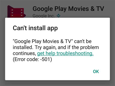 Play Store Error How To Fix Error 501 In Play Store Appslova