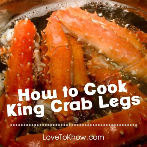 3 ways to cook king crab legs yum recipes cooking tips everything food pinterest