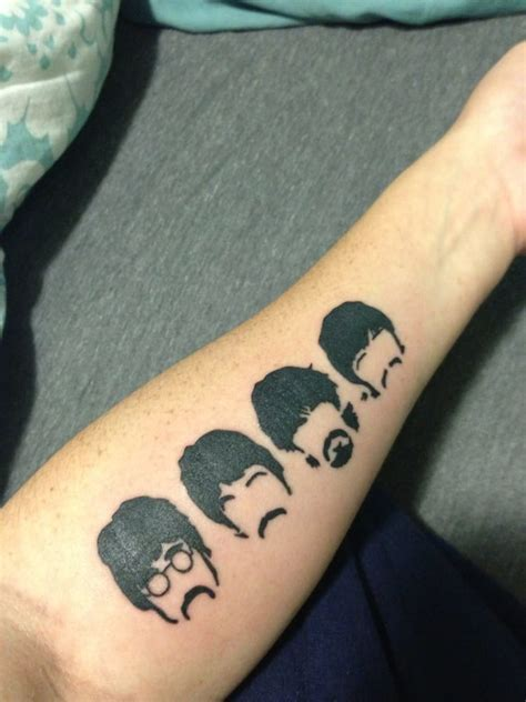 the beatles tattoos request beatles pictures included drawmytattoo