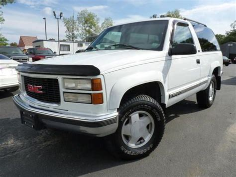 how to fix cars 1996 gmc yukon on board diagnostic system find used 1996 gmc yukon 1500 2dr 4wd in centereach new york united states