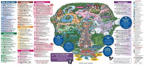 printable version of magic kingdom map disney magic kingdom map kleinconstantiacycling com
