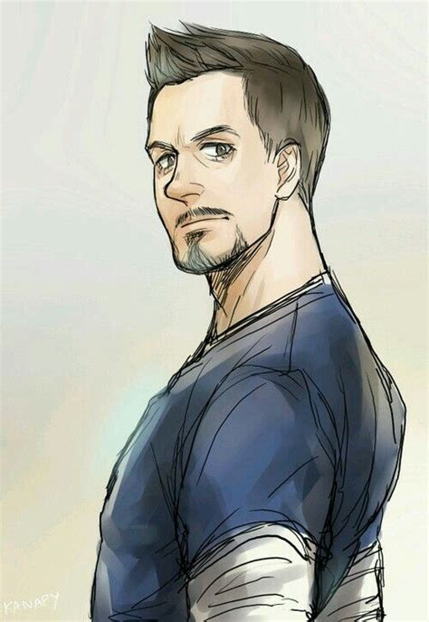 what haircut style is howard starks cool fanart tonystark ironman tony stark 3