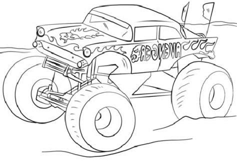 zombie monster truck coloring page 50 desenhos de carros para colorir pintar