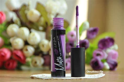 La Matte Pigment Gloss Stunner La la matte flat finish pigment gloss stunner review