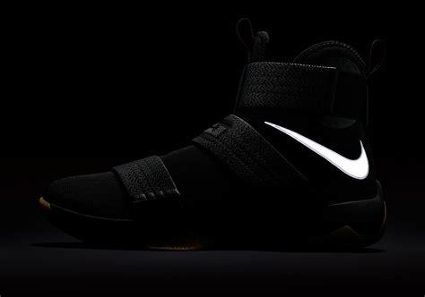 Nike Lebron Soldier 10 High Black Gold nike lebron soldier 10 black gum sneaker bar detroit