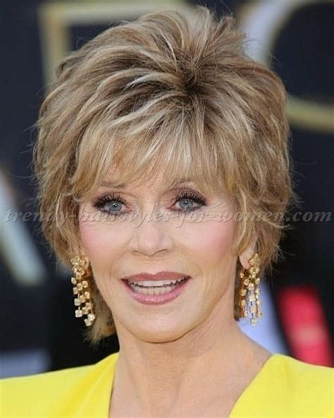 50 and 60 hairstyles short hairstyles over 50 hairstyles over 60 jane fonda