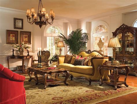 michael amini living room michael amini palais royale rococo cognac finish