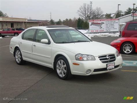 2002 glacier white pearl nissan maxima gle 25580851 photo 2 gtcarlot car color galleries