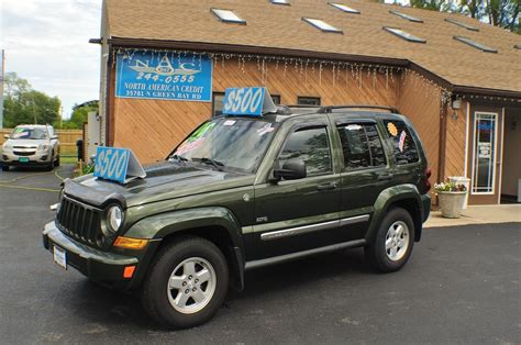 jeep green 2006 jeep liberty green 4x4 used suv sale