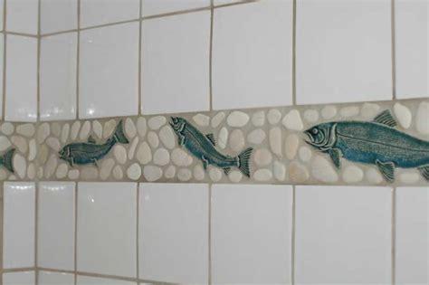 decorative accents pebbles inspiring decorative accents fish and pebbles border