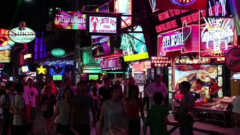 seattle red light district shanghai china circa august 2011 nightlife on nanjing