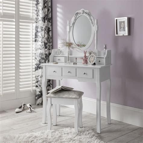 white dressing table mirror white dressing table mirror and stool set dresser ebay