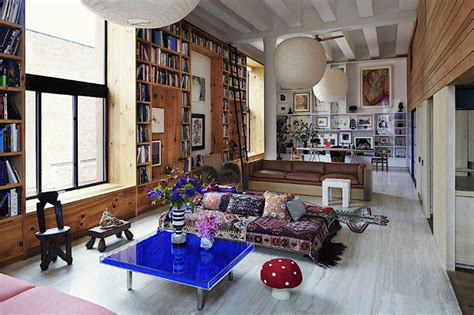 new york home design magazine inez and vinoodh bohemian new york loft