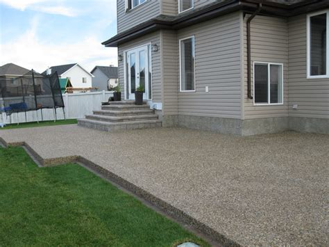 Patio Ideas Edmonton Edmonton Concrete Patio Next Level Concrete Ltd