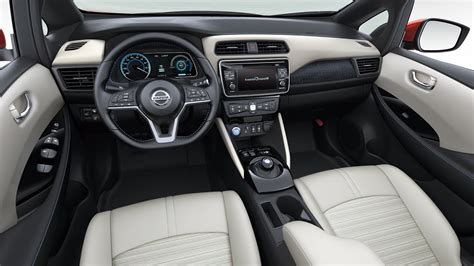 nissan leaf interior 2018 nissan leaf interior youtube