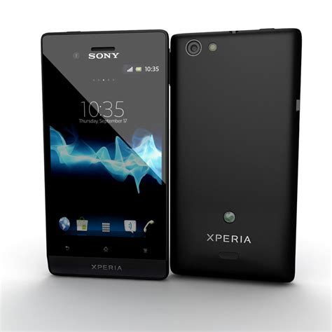 Hp Android Sony Xperia Miro sony xperia miro smartphone 3d 3ds