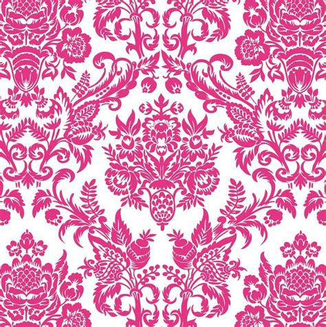 pink damask pattern hot pink damask patterns and prints pinterest hot