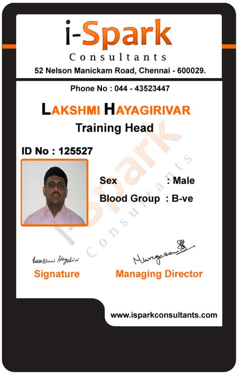 Id Card Design Professional | id card designs nagercoil professional pdf to page