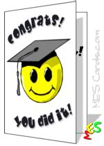 Happy Graduation Card Template by Graduation Cards