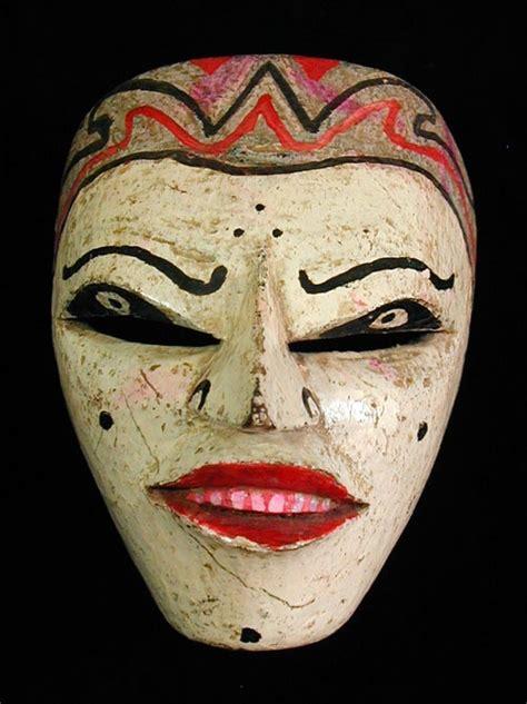 Masker Java java wajang mask mid 20th century maskers masks java and indonesia
