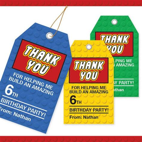printable lego gift tags building block thank you tags 3 colors printable