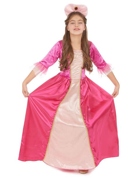 per bambina abito di carnevale da dama di corte per bambina