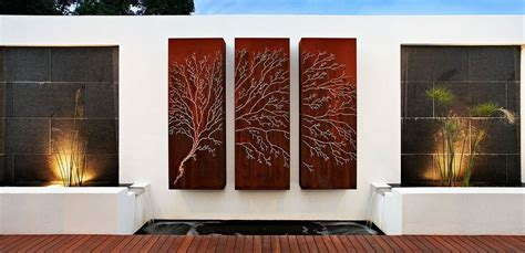 Outdoor Home Wall Decor by How To Beautify Your House Outdoor Wall D 233 Cor Ideas