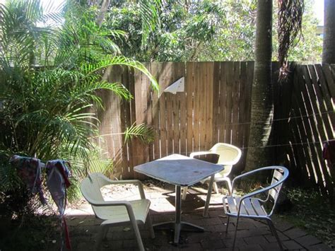 Patio Picture Of Aquarius Backpackers Motel Byron Bay Patio Motel Bay