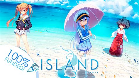 support visual  islands english game anime debut