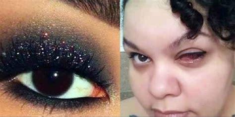 Make Up Murah sembarangan pakai kosmetik murah si wanita alami kebutaan co id