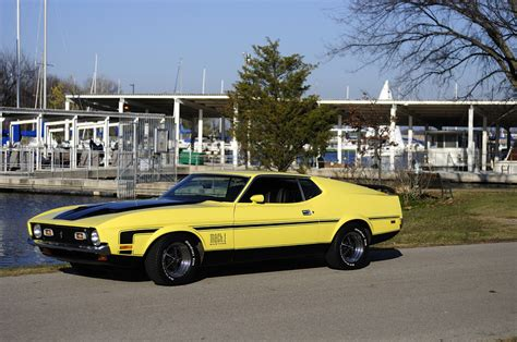 mustang ok 71 ford mustang 351 c photo picture image