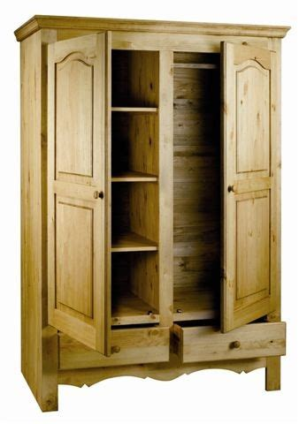armoire penderie largeur armoire penderie rustique en pin massif grenier alpin