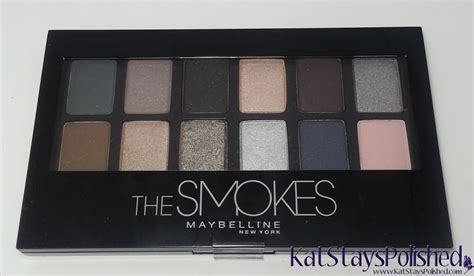 Maybelline Palette stays polished with a dash of