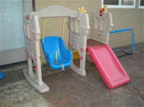 little tikes castle swing and slide mybundletoys little tikes castle swing n slide set