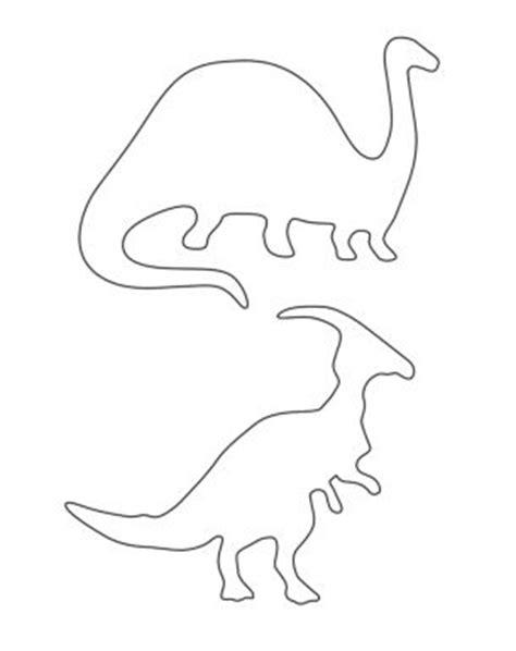 printable dinosaur stencils herbivore dinosaur stencils printable crafts dinosaurs
