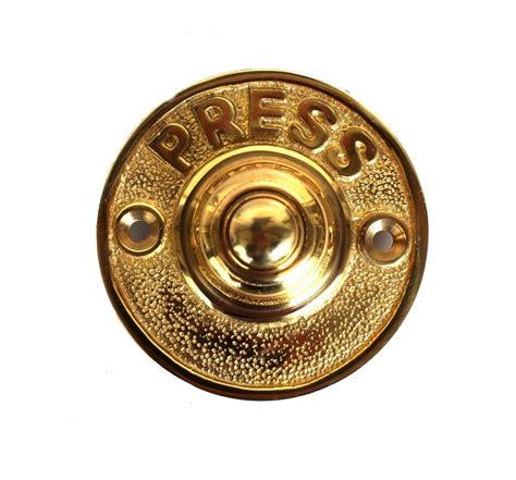 Bel Pintu Kuningan Brass Doorbell press solid brass antique style retro door bell push button the bay