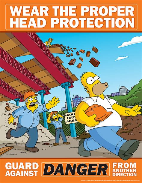 The Meme Machine Pdf - 22 simpsons safety posters gallery ebaum s world