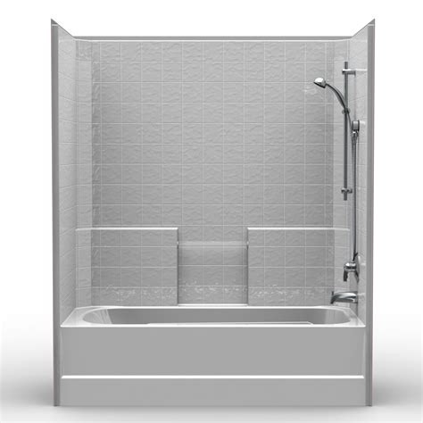 1 bathtub shower single piece tub shower 60 quot x 32 quot x 72 quot shower tub combo