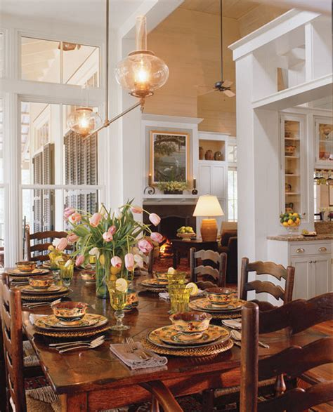 Coastal Dining Room Concept Tideland Style Dining Room By Our Town Plans