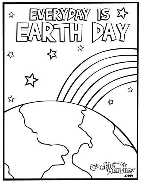 Preschool Coloring Pages Earth Day | kindergarten earth day coloring pages download and print