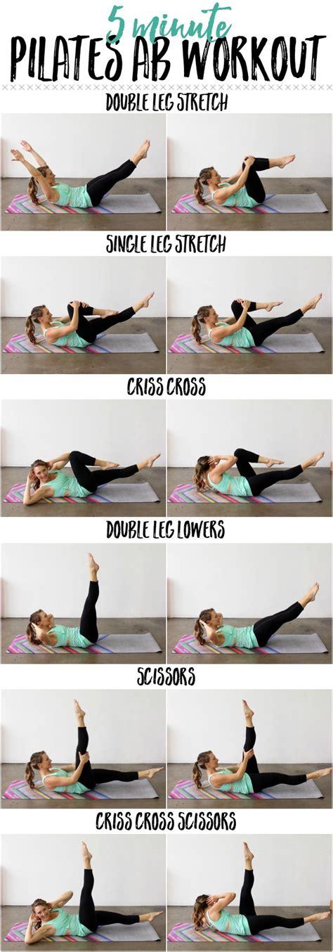 minute pilates ab workout     pilates ab series