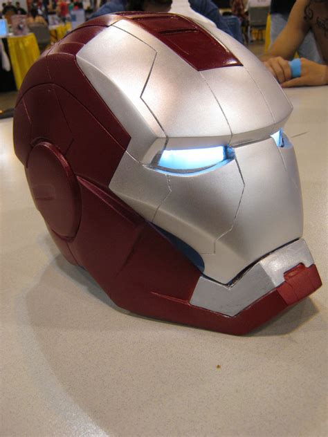Iron Helmet Papercraft - iron v 2012 e by nmtcreations on deviantart