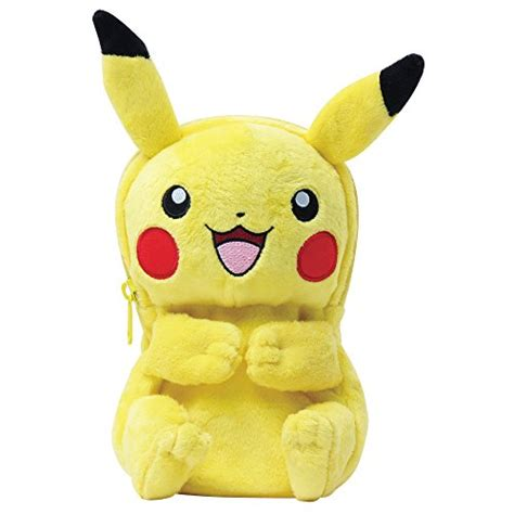New 3ds Xl Hori Pikachu Pouch hori pikachu plush pouch for new nintendo 3ds xl officially licensed by nintendo