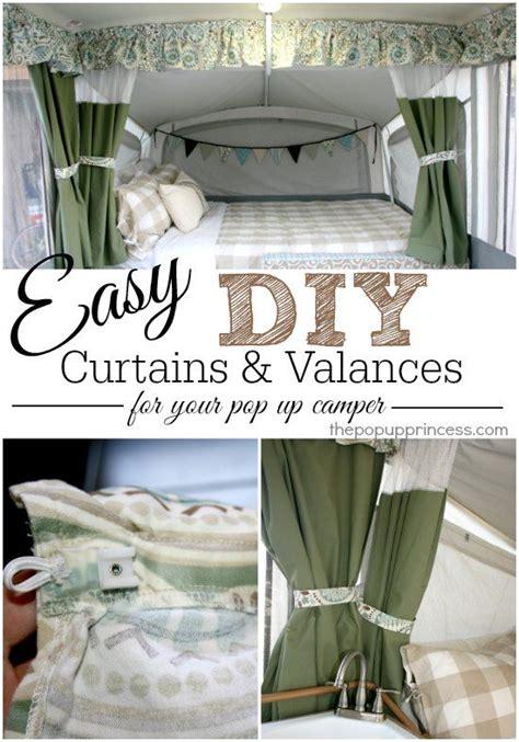 tent trailer curtains pop up cer curtains valances part 2 cer
