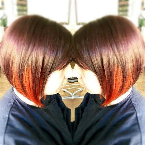 dip dye bobs 1000 images about haar hair on pinterest cute short
