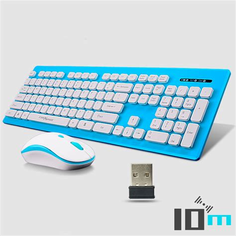 Portable Wireless Optical Gaming Mouse 24ghz Vz3101 Black coolxspeed km5808 wireless keyboard mouse combos noiseless
